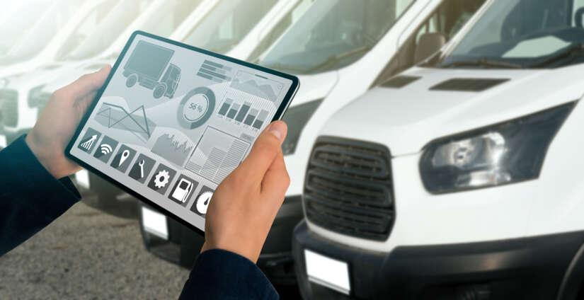 GPS-Tracker bestelbus